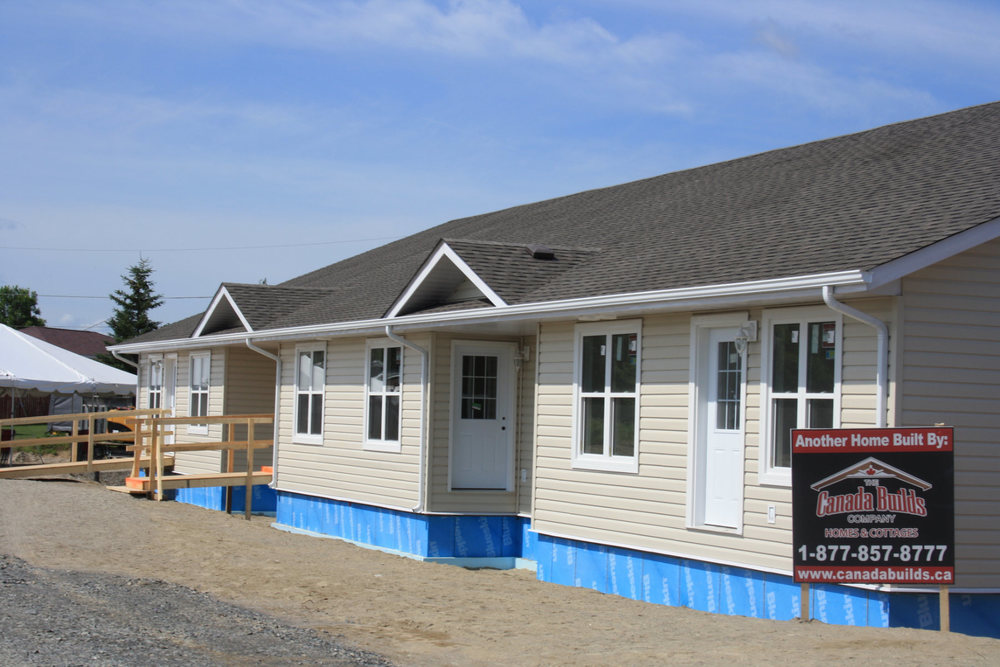 Multi family canada builds custom modular homes ontario for Two family modular homes