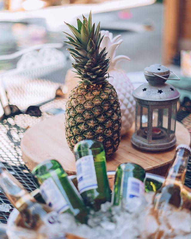 Backyard ready. 💪⠀ ⠀ What's your go-to summertime drink or cocktail? ⠀