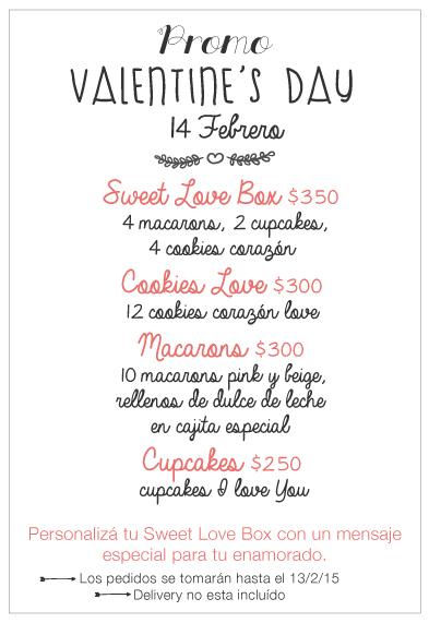 Promos San Valentine's Day