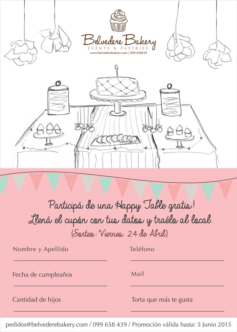 Celebramos nuestros 6 meses, sorteo Happy Table!