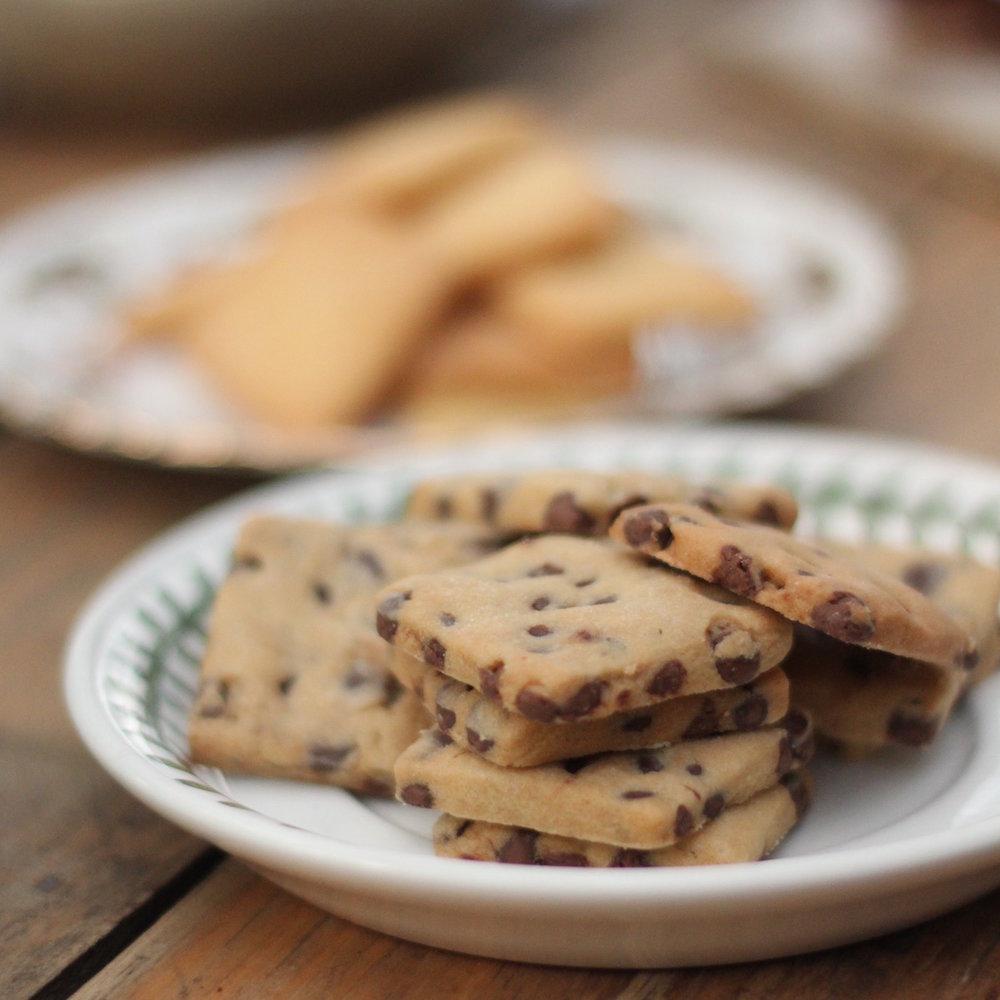 Cookies cuadraditas 20u $120