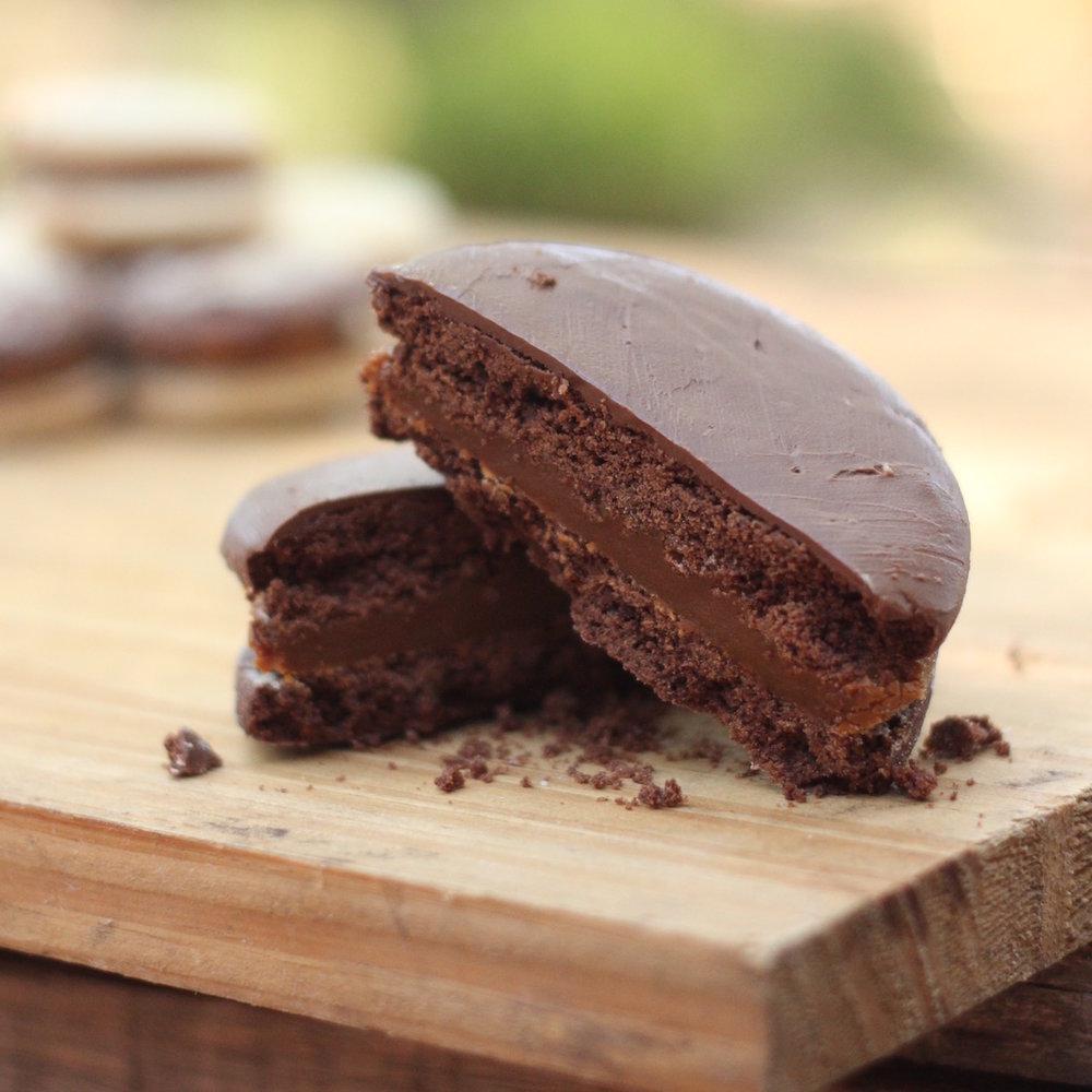 Alfajor chocolate $80 c/u