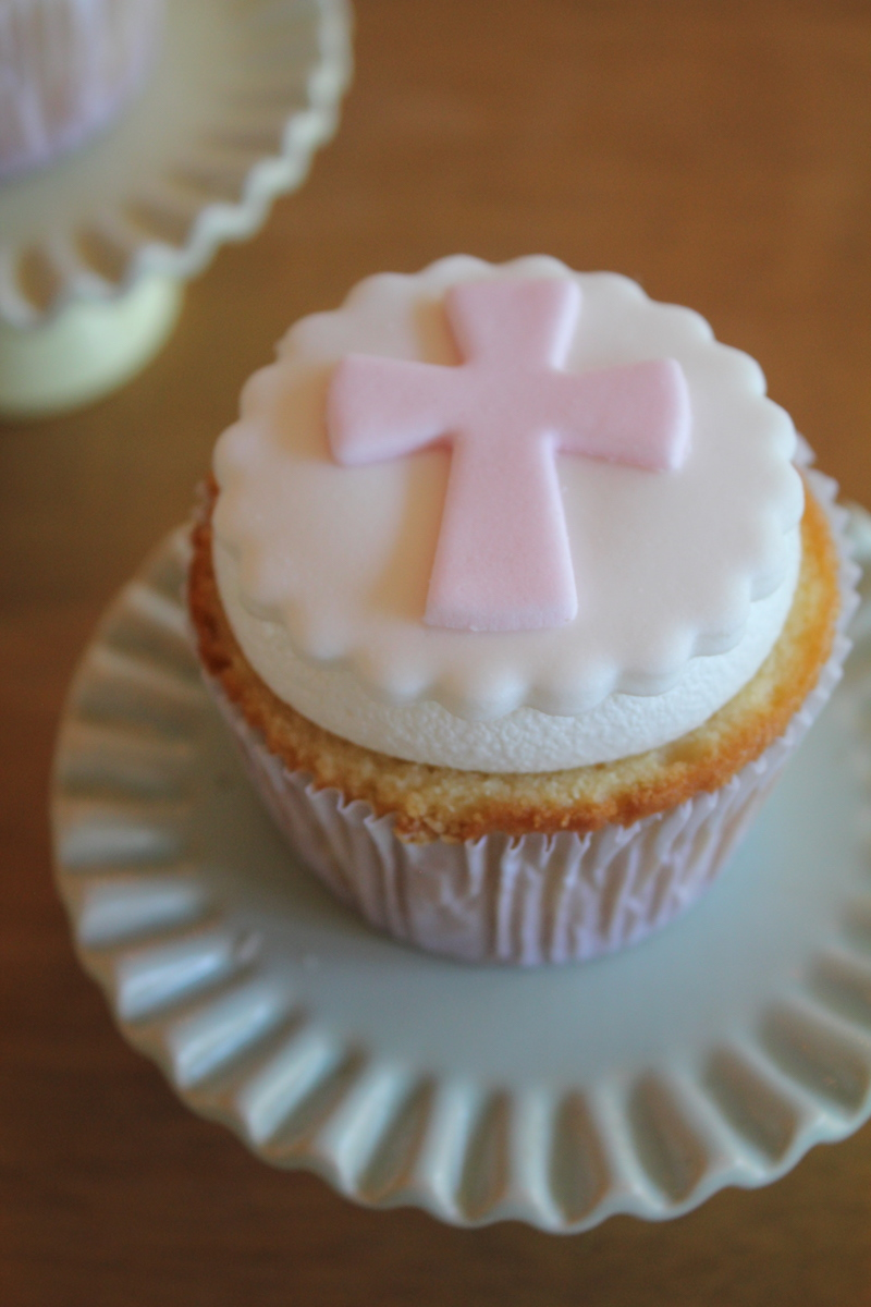 Cupcake con fondant