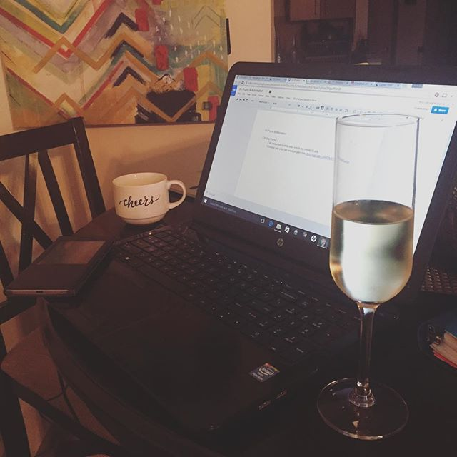 Friday night turn up. #creativeentrepreneur