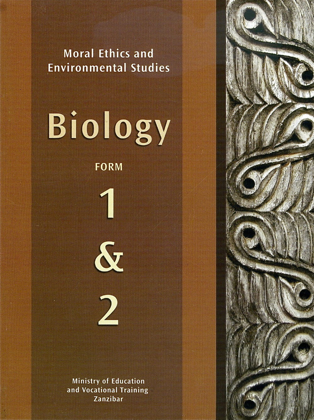 Biology Curriculum, Forms 1 & 2 . Author. (Ministry of Education, Zanzibar, 2007).