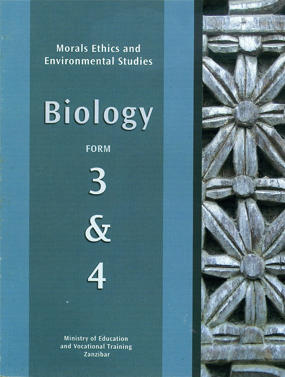 Biology Curriculum, Forms 3 & 4.  Author. (Ministry of Education, Zanzibar, 2007)