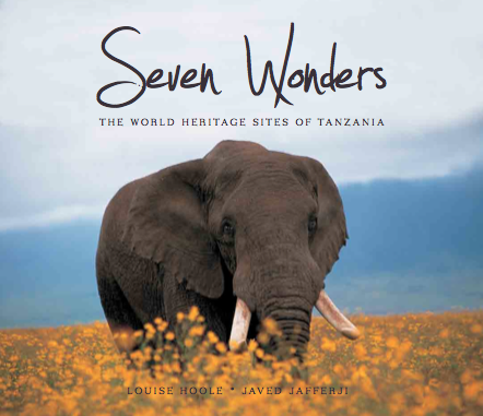 Seven Wonders: the World Heritage Sites of Tanzania.  Author. (First Edition, Gallery Publications, 2011).