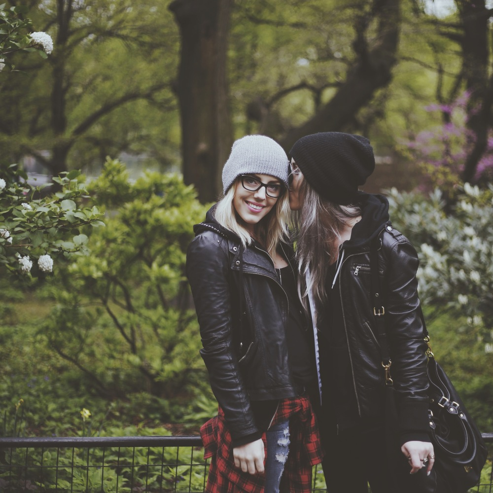 Sisters in Central Park