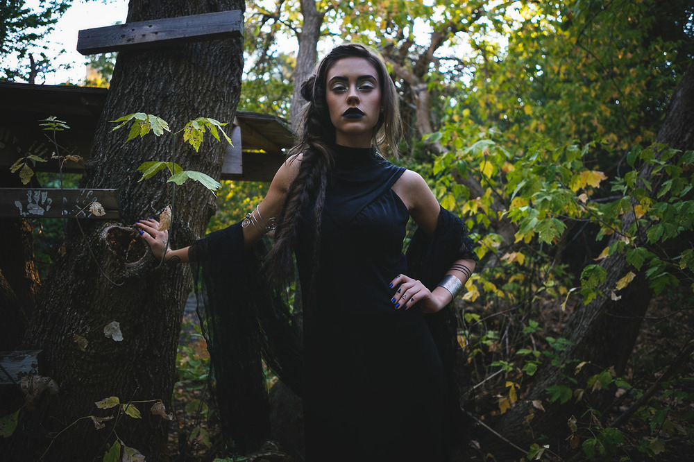seven devils dress |  lux cuff