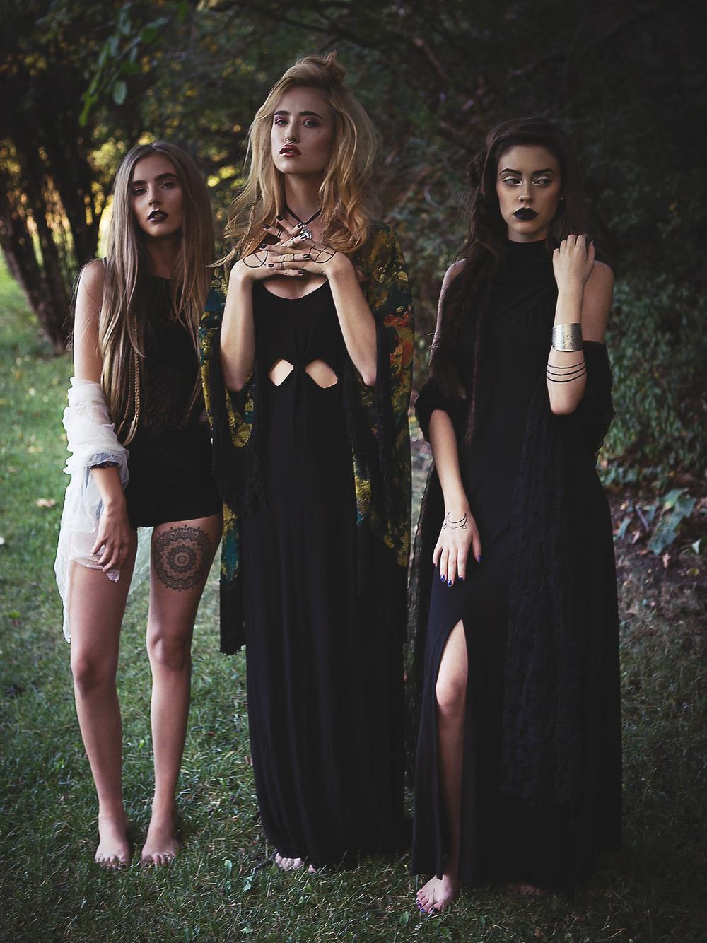 skeletons crop | betty undie |    superstitions dress | rose garden kimono | seven devils dress