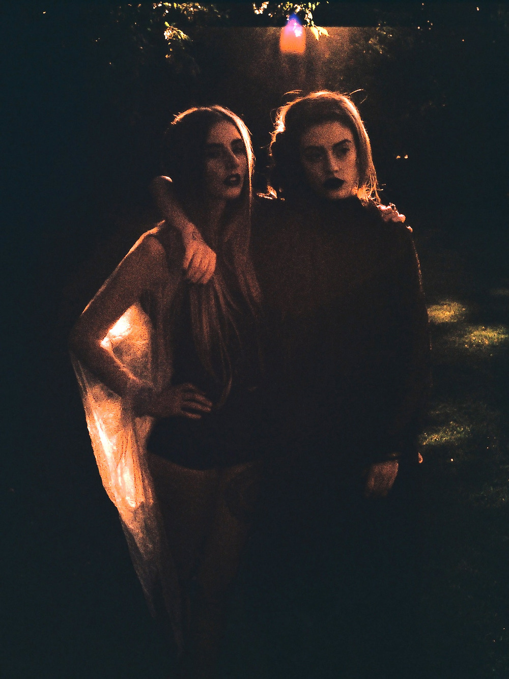 skeletons crop | betty undie | seven devils dress