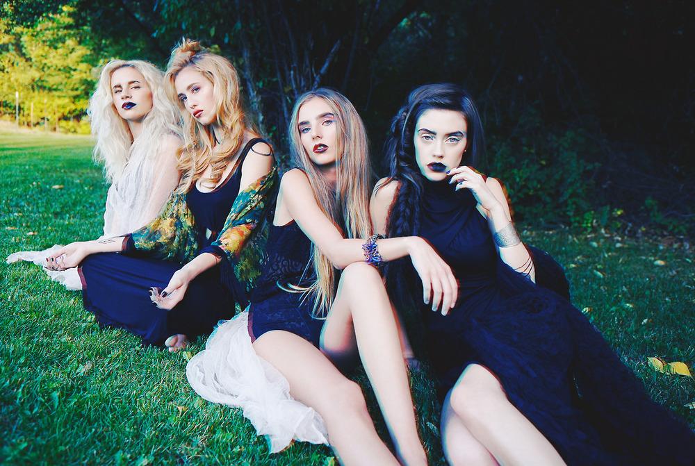 superstitions dress  |  rose garden kimono  |  skeletons crop  |  betty undie  |  seven devils dress