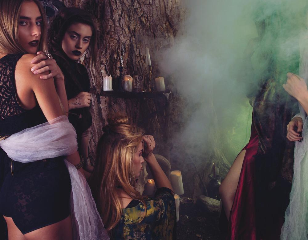 skeletons crop | betty undie | seven devils dress   | rose garden kimono | wine 'n' shine dress | spellbound belt | voodoo child kimono