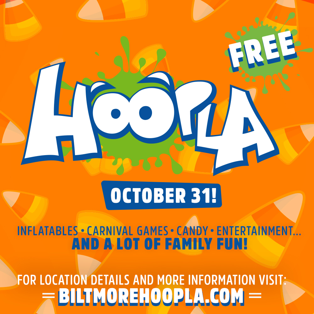 Last year we impacted hundreds of families in West Asheville and this year we anticipate even more! So here are two ways to prepare for the excitement! 1.     Register your kids. 2.     Sign up to volunteer. Both can be done at: biltmorechurch.com/hoopla/