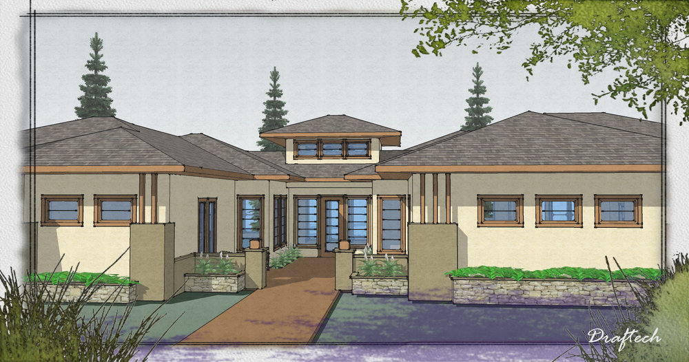 Renderings and Illustrations - Using the latest software, we can create colorful, detailed renderings and floor plan marketing materials.