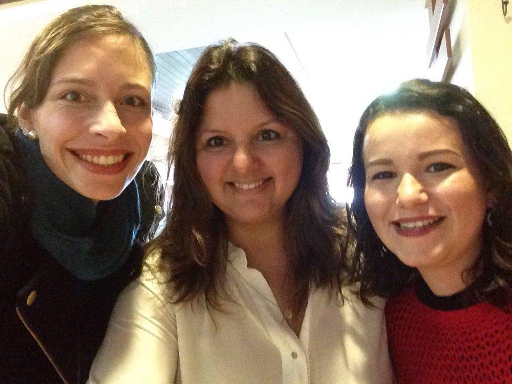 Um dia de trabalho, com a parceira Polianna Moraes!