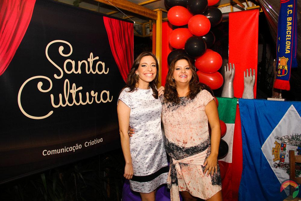 Comemorando os três anos da Santa Cultura, junho 2016