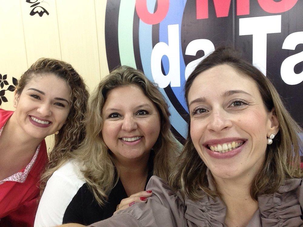 Falando sobre a Santa Cultura para o programa Melhor da Tarde, com Sibeli Miranda, outubro 2015!