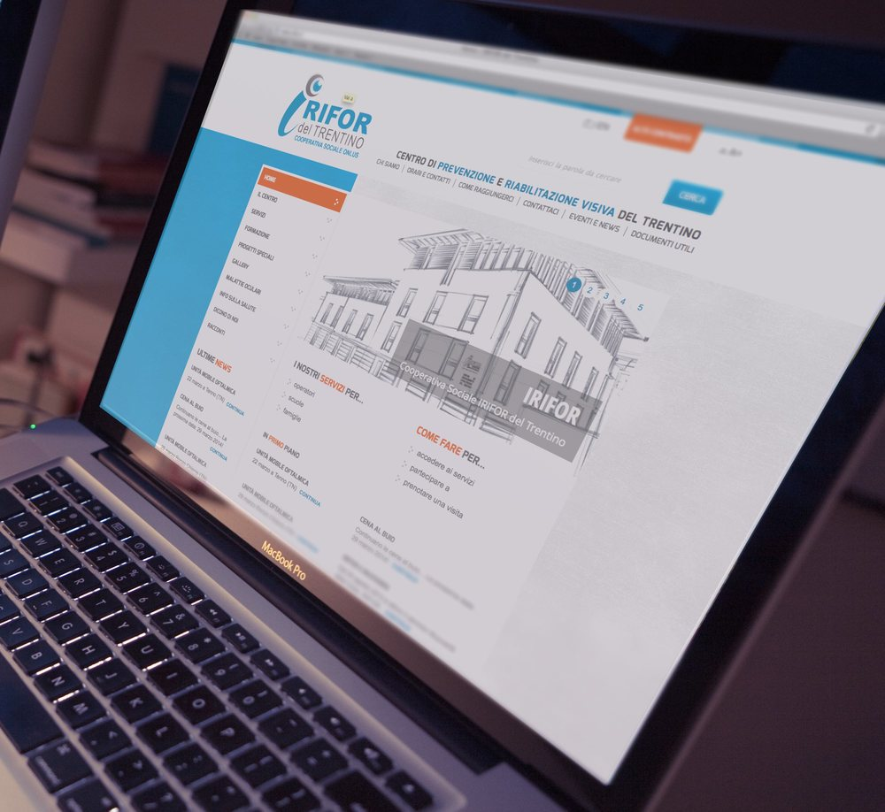IRIFOR - interfaccia ottimizzata per utenti ipovedenti