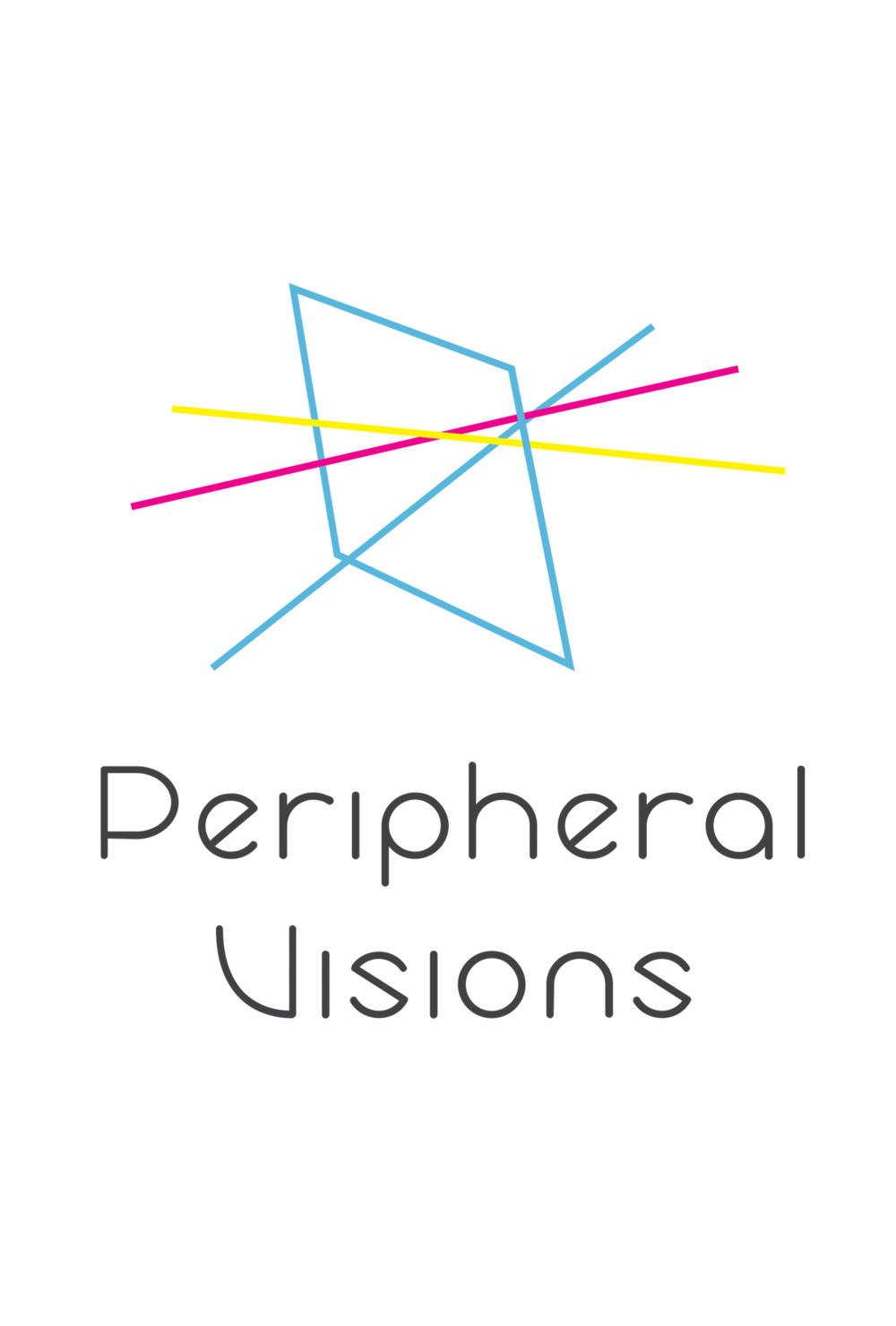 This logo was created for the University of Southern California.   Peripheral Visions   was a symposium presented by USC in collaboration with the Getty Research Institute.