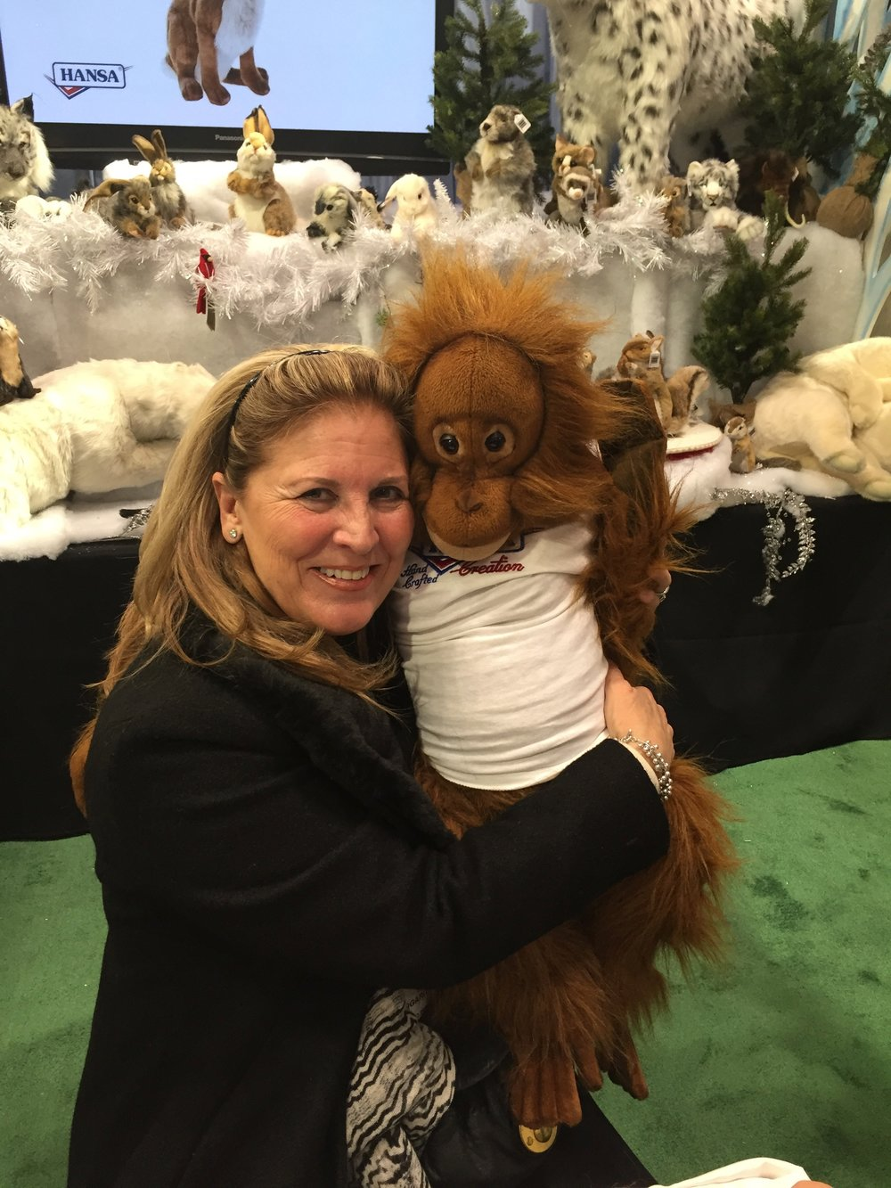 "You might recognize this adorable orangutan as ""Clyde"" from the movie Every Which Way But Loose with Clint Eastwood..This is the Hansa double!"