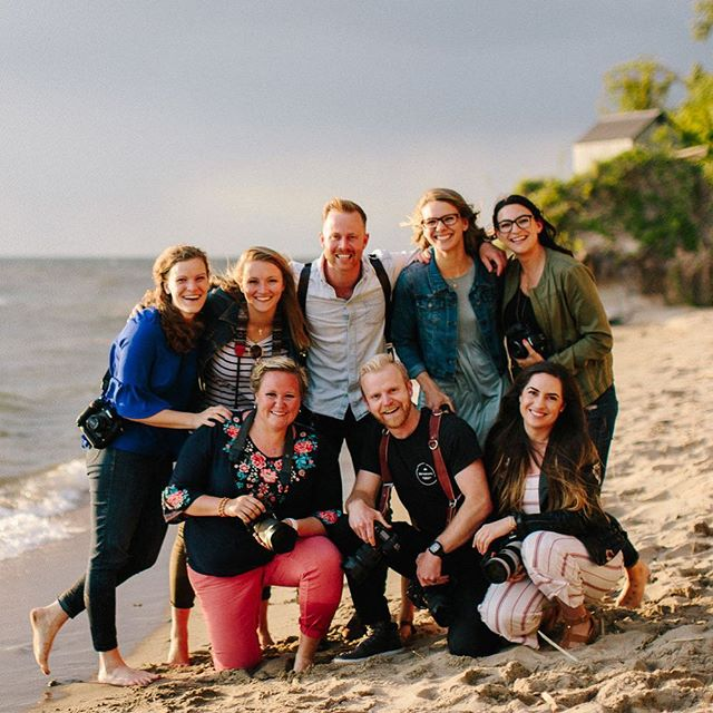 What an amazing crew we had at the very first Unveil Workshop! And now, things are in motion for Unveil 2.0! In the next week or so we'll be announcing dates and details so keep a weather eye open 🙌🏼 Just a hint...the Venue. Is. Nuts! . #unveilworkshop #photographyworkshop #michiganweddingphotographer #puremichigan #lookslikefilm #mastinlabs