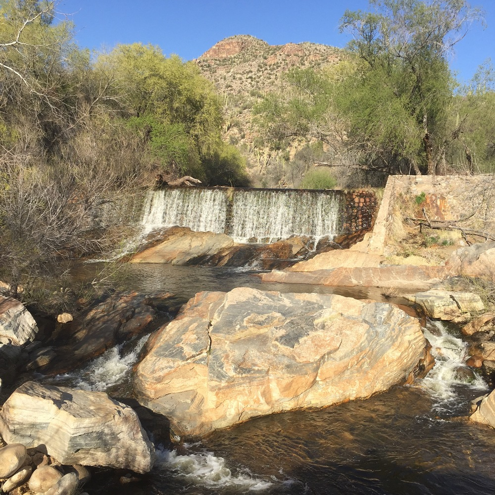 Sabino Canyon Dam