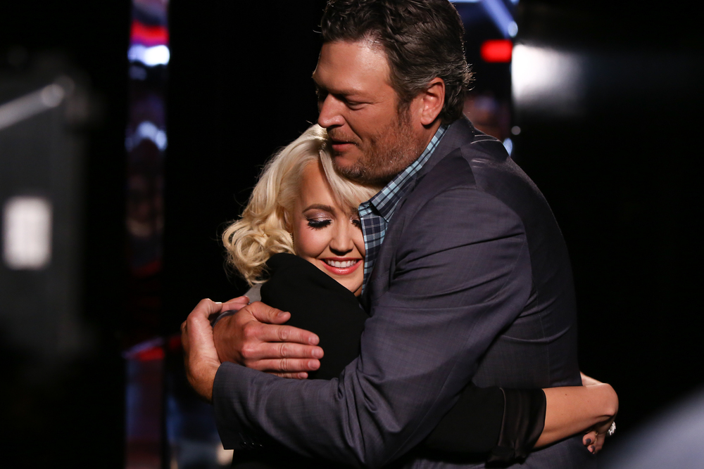 blake shelton the voice photo
