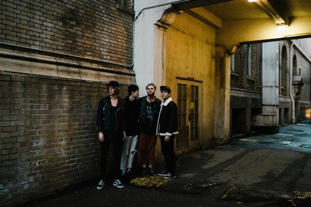urban cone band portrait