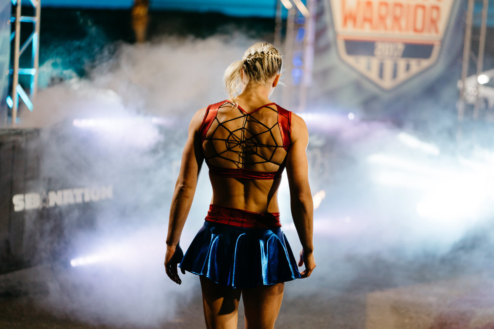 NBC's  American Ninja Warrior    |  Season 9  This show is always such a blast to shoot. For Season 9, I traveled with the show to Los Angeles, San Antonio, Daytona, Denver, and Las Vegas to capture all the behind the scenes action of the athletes and crew.