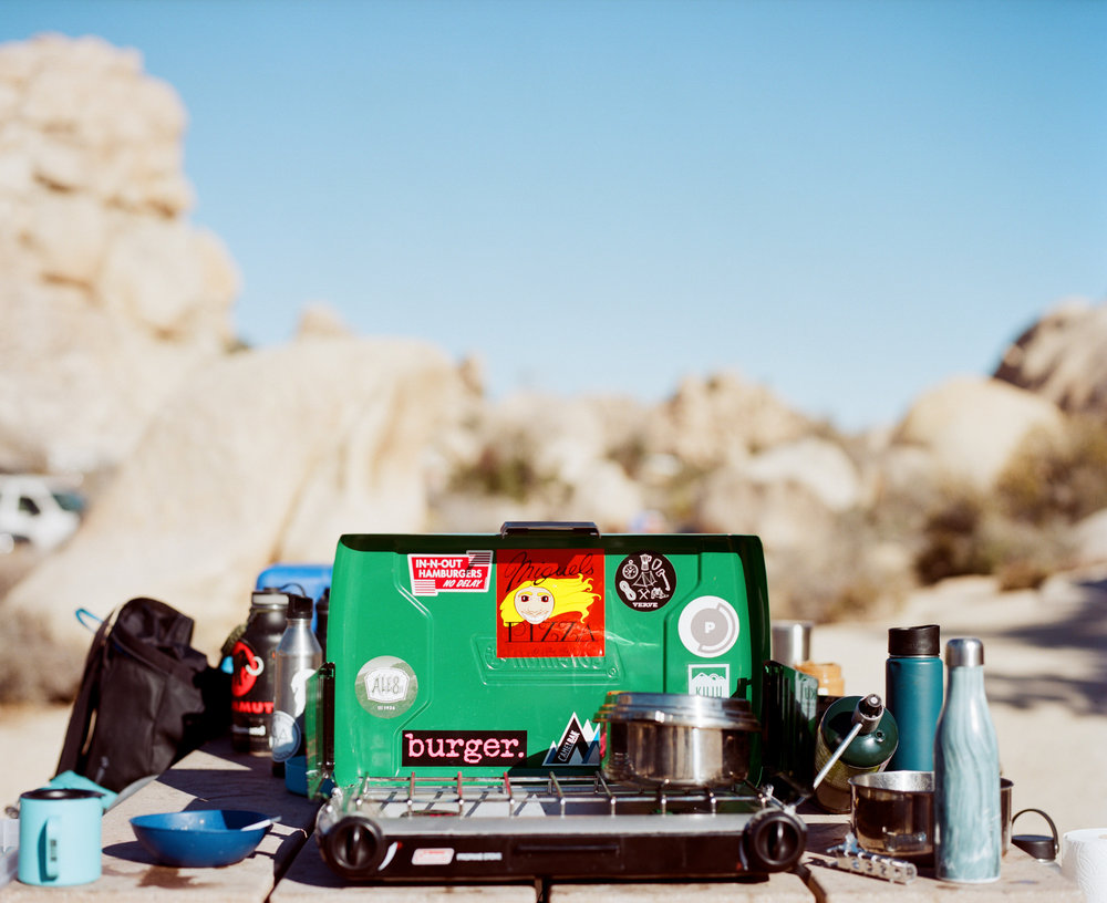Joshua Tree  | Personal Project  A documentation of youth, friendship, and adventure, seen through the lens of the rock climbing lifestyle. Shot in Joshua Tree on medium format and 35mm film.