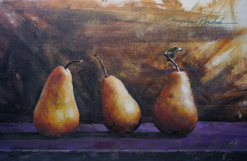 """Two of Three.. in a Pear"""