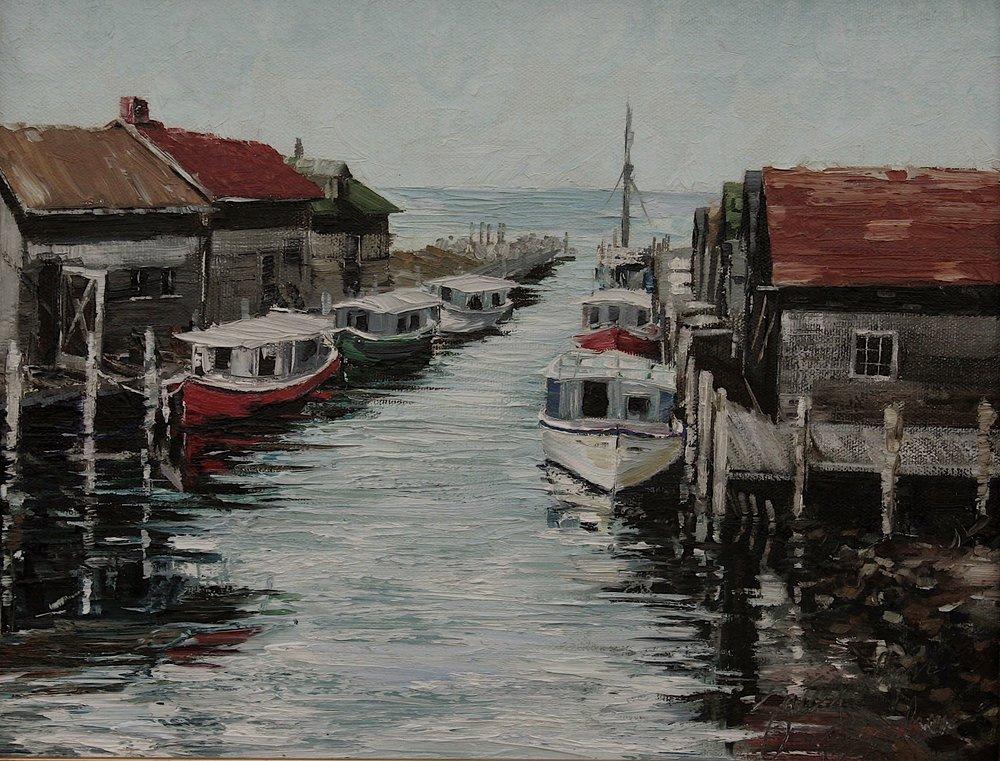 """Detail """"Fish Town"""""""