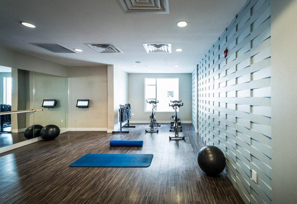 Fitness Studios + Spaces -