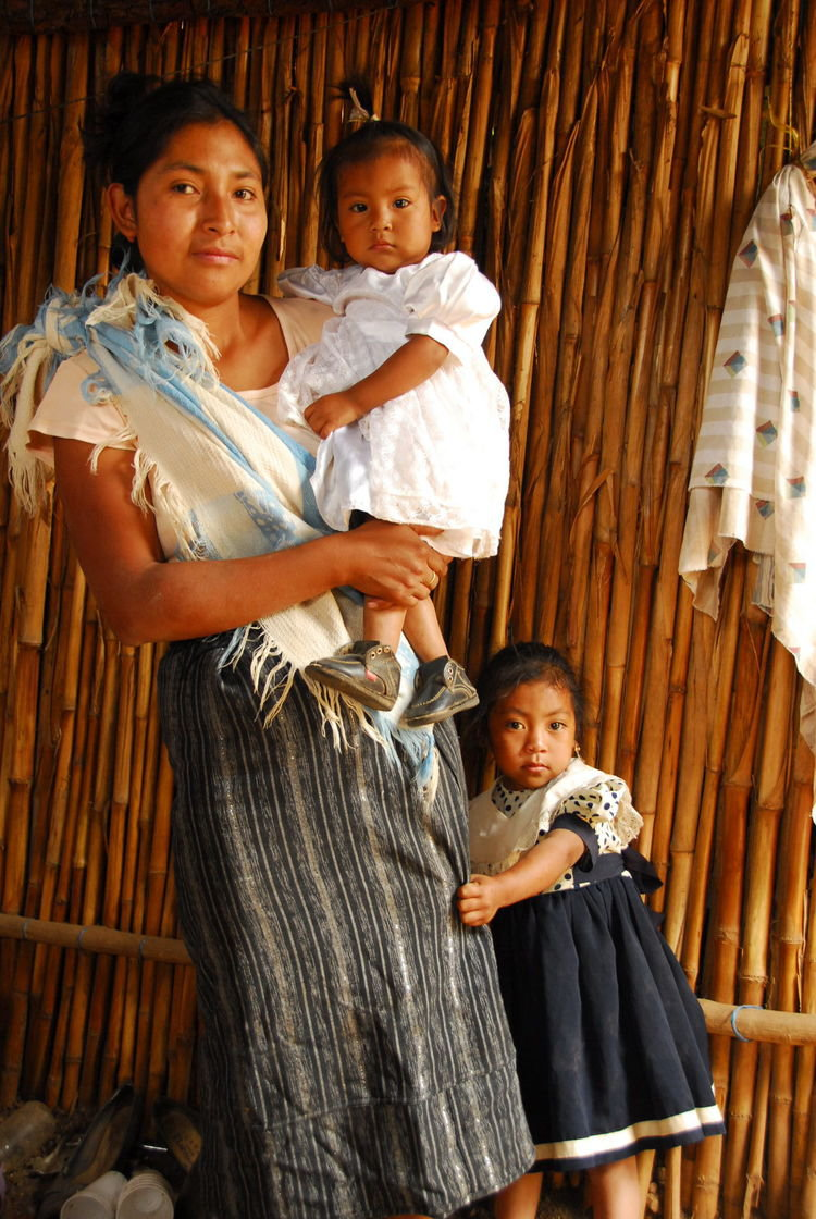 Guatemala Mother of Two