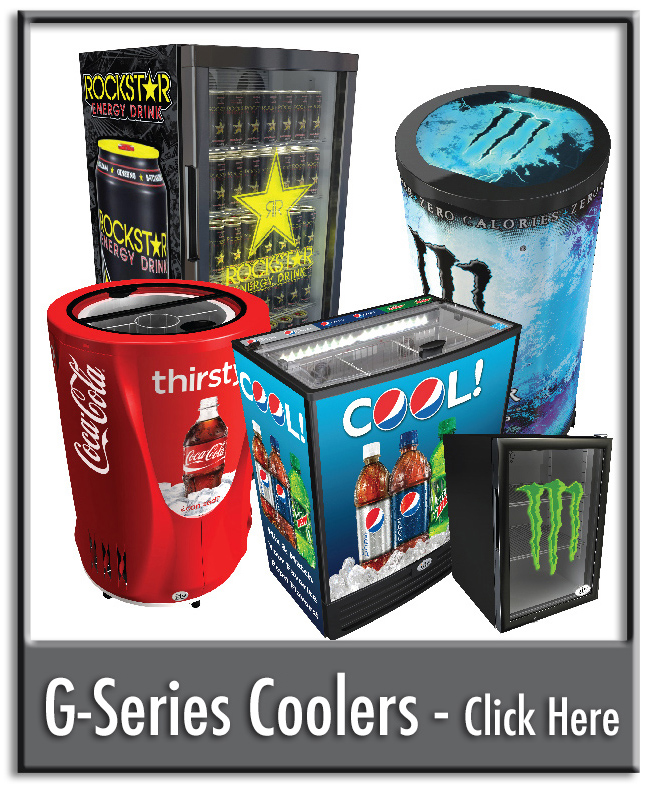 Click to View Our G-Series Cooler Gallery