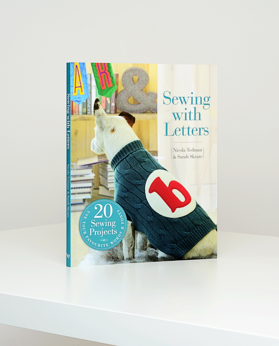 Sewing with Letters. Commissioned by Ivy Press