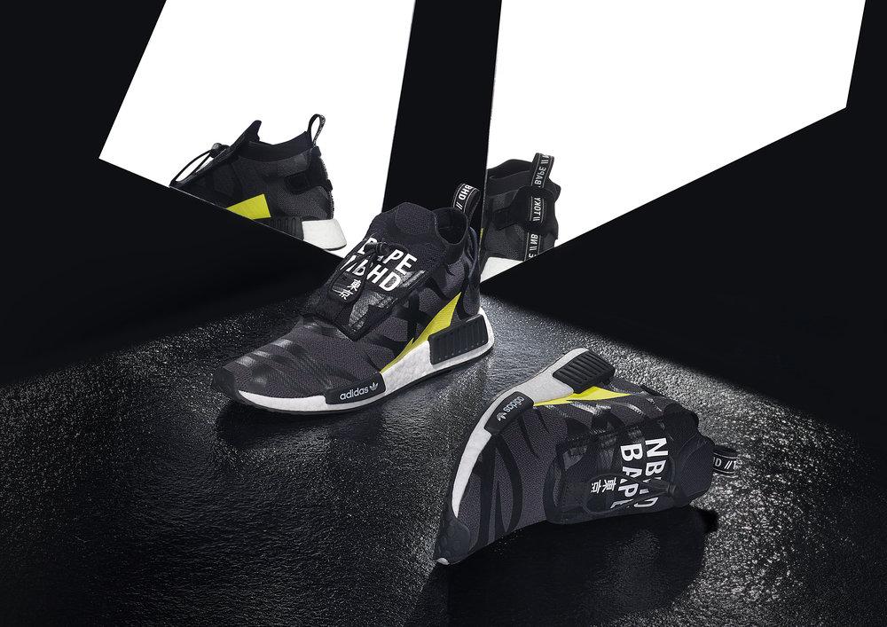 Adidas, Bape and Neighborhood collaboration