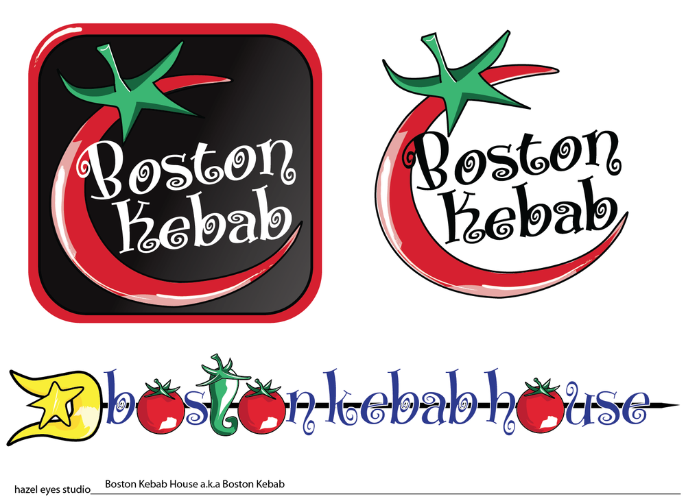 Boston Kebab_App Logo/Spear Logo