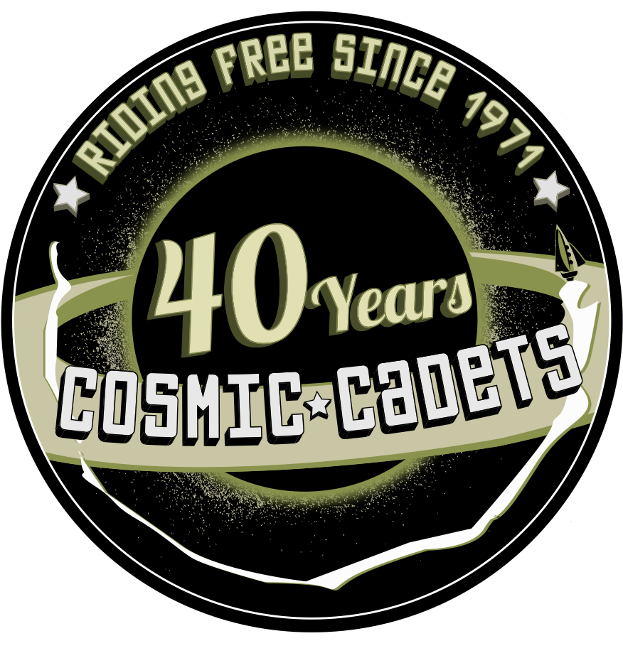 Cosmic Cadets_40 Years Patch