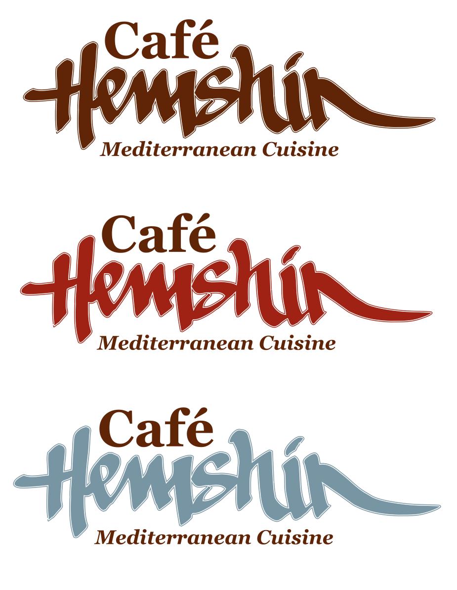 Cafe Hemshin_Concept Logo