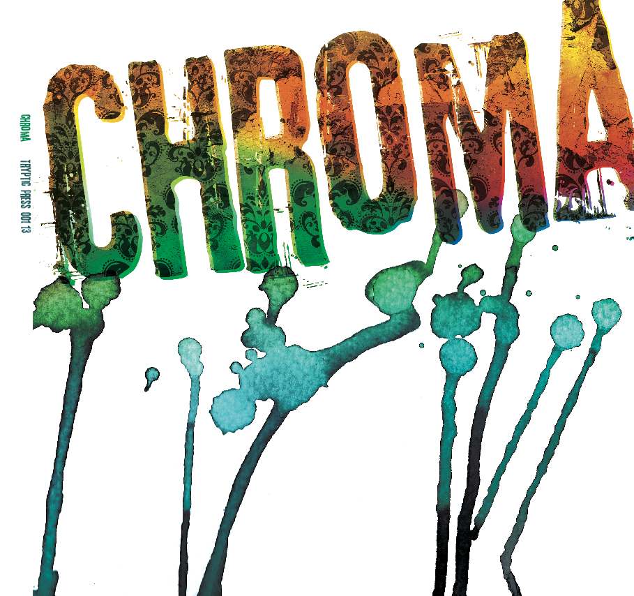 CHROMA_Book Cover Logo with Drips
