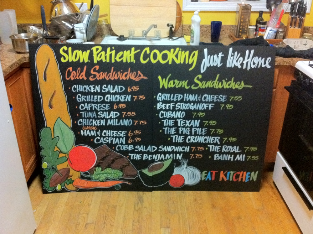 Eat Kitchen_Sandwich Board