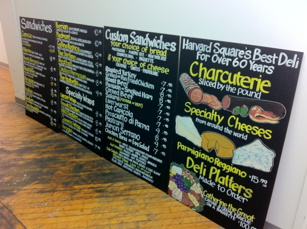 Cardullo's_Sandwich Boards