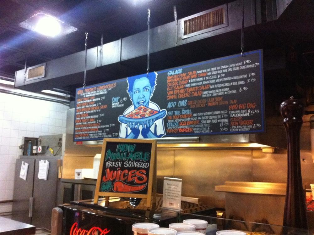 Oggi Gourmet_Sandwich Board