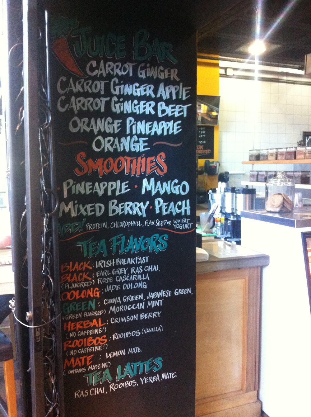 Oggi Gourmet_Smoothie Board