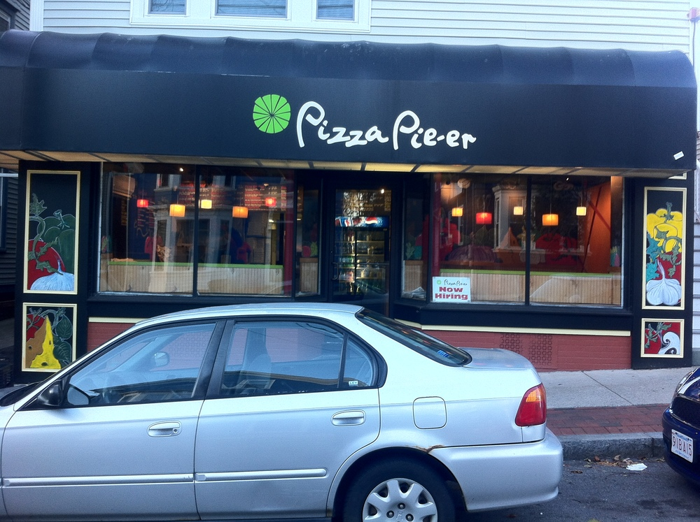 Pizza Pie'er_Exterior Walls