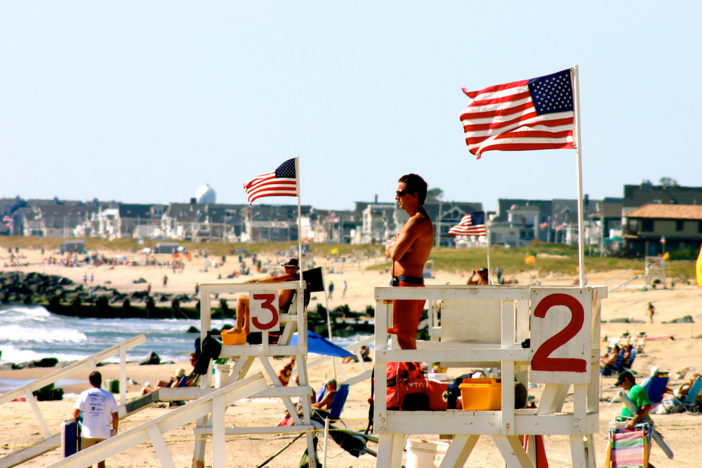2012 © Jordan Davis Photography - Sea Girt Beach Patrol Will Sodano, Chicago Stand and Bill Medler, Brooklyn Stand