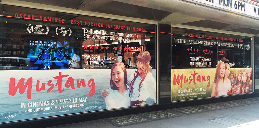 Curzon Soho Window Takeover