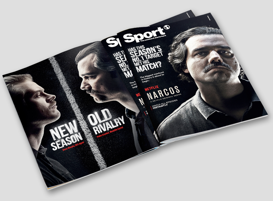 Sport Magazine Cover 'Deadline-Day' Wrap